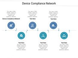 Device Compliance Network Ppt Powerpoint Presentation Icon Information Cpb