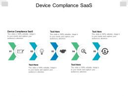 Device Compliance SaaS Ppt Powerpoint Presentation Summary Information Cpb