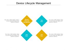 Device Lifecycle Management Ppt Powerpoint Presentation Layouts Example Cpb