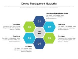 Device Management Networks Ppt Powerpoint Presentation Infographic Template Show Cpb