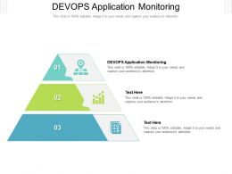 DEVOPS Application Monitoring Ppt Powerpoint Presentation Gallery Images Cpb