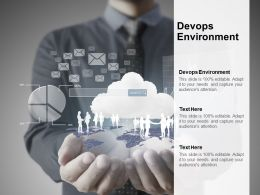 Devops Environment Ppt Powerpoint Presentation Infographic Template Icon Cpb