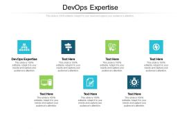 Devops Expertise Ppt Powerpoint Presentation Summary Graphics Tutorials Cpb