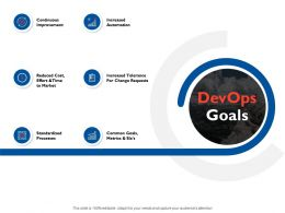 Devops Goals C7 Ppt Powerpoint Presentation File Elements