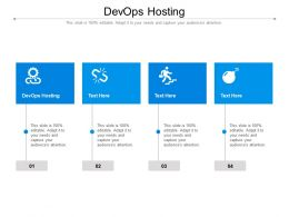 DEVOPS Hosting Ppt Powerpoint Presentation Slides Smartart Cpb