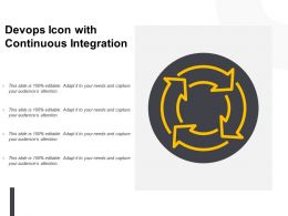 Devops Icon With Continuous Integration