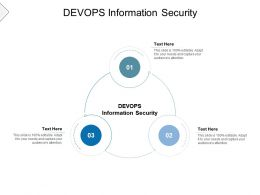 DEVOPS Information Security Ppt Powerpoint Presentation Icon Visual Aids Cpb