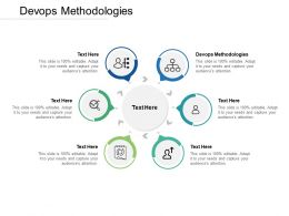 Devops Methodologies Ppt Powerpoint Presentation Portfolio Objects Cpb