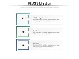 DEVOPS Migration Ppt Powerpoint Presentation Professional Clipart Cpb