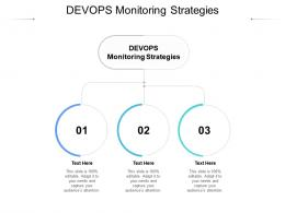 DEVOPS Monitoring Strategies Ppt Powerpoint Presentation Infographic Template Graphics Cpb