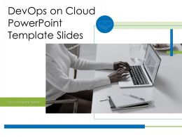 Devops On Cloud Powerpoint Template Slides Powerpoint Presentation Slides
