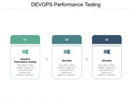 DEVOPS Performance Testing Ppt Powerpoint Presentation Styles Templates Cpb