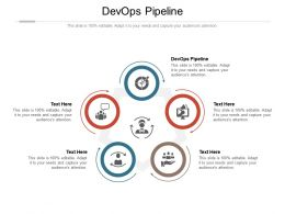 Devops Pipeline Ppt Powerpoint Presentation Background Image Cpb