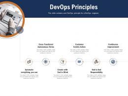 Devops Principles Devops Cloud Computing Ppt Powerpoint Presentation Icon Portrait