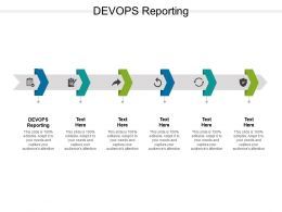 DEVOPS Reporting Ppt Powerpoint Presentation Summary Diagrams Cpb