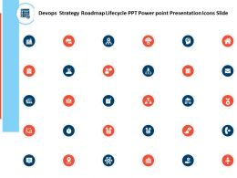 Devops Strategy Roadmap Lifecycle Ppt Power Point Presentation Icons Slide