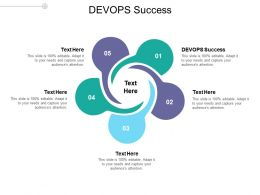 DEVOPS Success Ppt Powerpoint Presentation Model Information Cpb