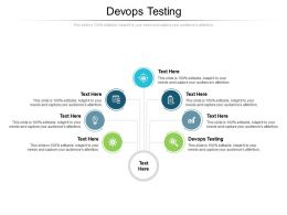 Devops Testing Ppt Powerpoint Presentation Icon Graphic Tips Cpb