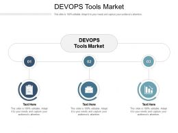 DEVOPS Tools Market Ppt Powerpoint Presentation Gallery Good Cpb