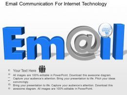 df Email Communication For Internet Technology Powerpoint Template