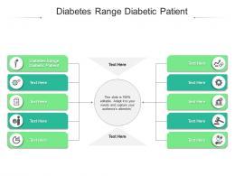 Diabetes Range Diabetic Patient Ppt Powerpoint Presentation Outline Example Cpb