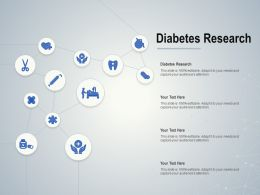 Diabetes Research Ppt Powerpoint Presentation Infographic Template Elements