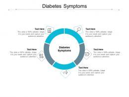 Diabetes Symptoms Ppt Powerpoint Presentation Styles Show Cpb