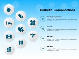 Diabetic Complications Ppt Powerpoint Presentation File Rules