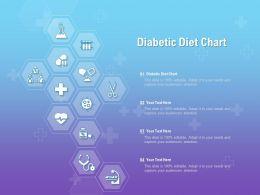 Diabetic Diet Chart Ppt Powerpoint Presentation Ideas Outfit