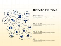 Diabetic Exercises Ppt Powerpoint Presentation Pictures Information