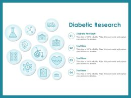 Diabetic Research Ppt Powerpoint Presentation Pictures Templates