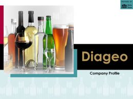 Diageo Company Profile Overview Financials And Statistics From 2014-2018