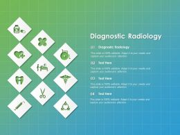 Diagnostic Radiology Ppt Powerpoint Presentation Gallery Graphics Design