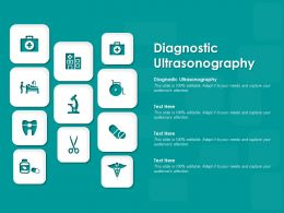 Diagnostic Ultrasonography Ppt Powerpoint Presentation Inspiration Examples