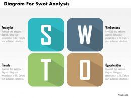 diagram_for_swot_analysis_flat_powerpoint_design_Slide01