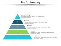 Dial Conferencing Ppt Powerpoint Presentation Model Example Introduction Cpb
