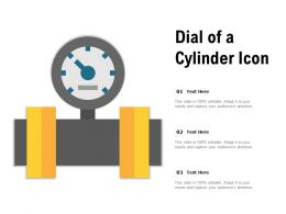 Dial Of A Cylinder Icon