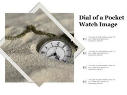 Dial Of A Pocket Watch Image