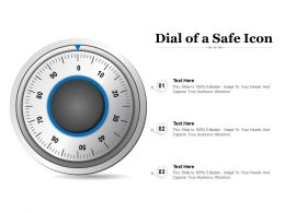 Dial Of A Safe Icon
