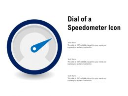 Dial Of A Speedometer Icon