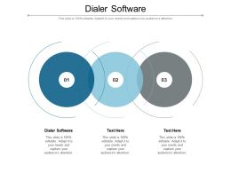Dialer Software Ppt Powerpoint Presentation Styles Show Cpb