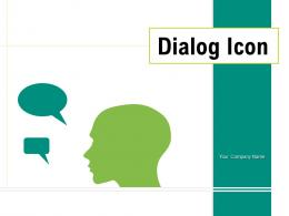 Dialog Icon Performance Business Discussion Employee Conversation