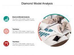 Diamond Model Analysis Ppt Powerpoint Presentation Layouts Slide Cpb