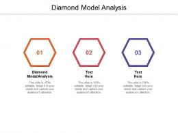 Diamond Model Analysis Ppt Powerpoint Presentation Pictures File Formats Cpb