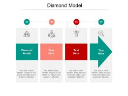 Diamond Model Ppt Powerpoint Presentation Summary Slide Download Cpb