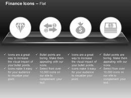 diamond_money_exchange_asset_money_ppt_icons_graphics_Slide01