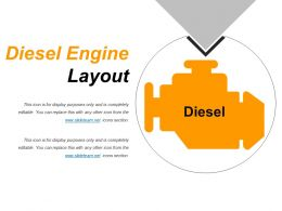 Diesel Engine Layout