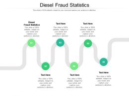 Diesel Fraud Statistics Ppt Infographic Template Inspiration Cpb