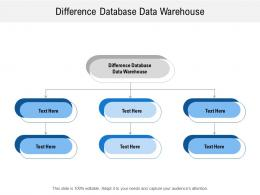 difference database data warehouse ppt powerpoint presentation icon designs download cpb