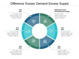 Difference Excess Demand Excess Supply Ppt Powerpoint Presentation Portfolio Cpb